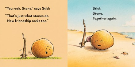 celebrate-picture-books-picture-book-review-stick-and-stone-at-the-beach