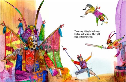 celebrate-picture-books-picture-book-review-father's-chinese-opera-acrobats
