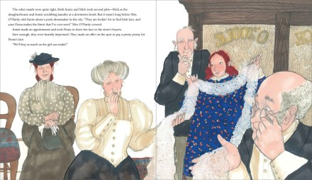 celebrate-picture-books-picture-book-review-fiona's-lace-fiona-gets-job