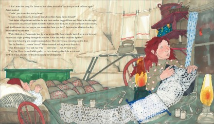 celebrate-picture-books-picture-book-review-fiona's-lace-trail-of-lace-story