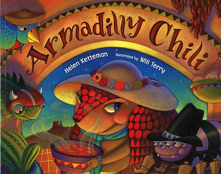 Armadilly Chili picture book review