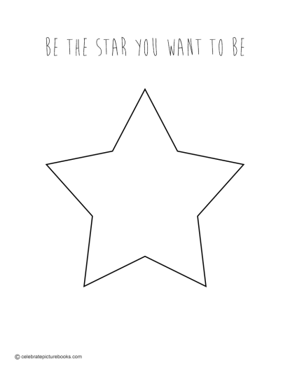 CPB - Star Coloring Page