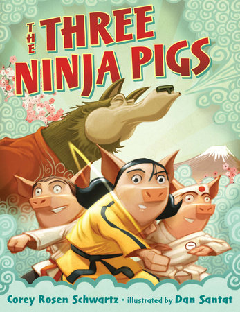 The Three Ninja Pigs Picture Book Review