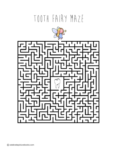 CPB - Tooth Fairy Maze finished