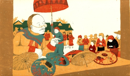 celebrate-picture-books-picture-book-review-the-umbrella-queen-emperor-judges-umbrellas