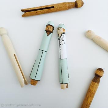 CPB - Doctors Clothespins