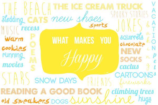 CPB - Happiness typography