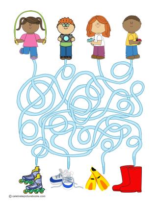 CPB - Shoe Day Maze