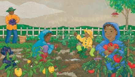 celebrate-picture-books-picture-book-review-rainbow-stew-interior-art-picking-vegetables