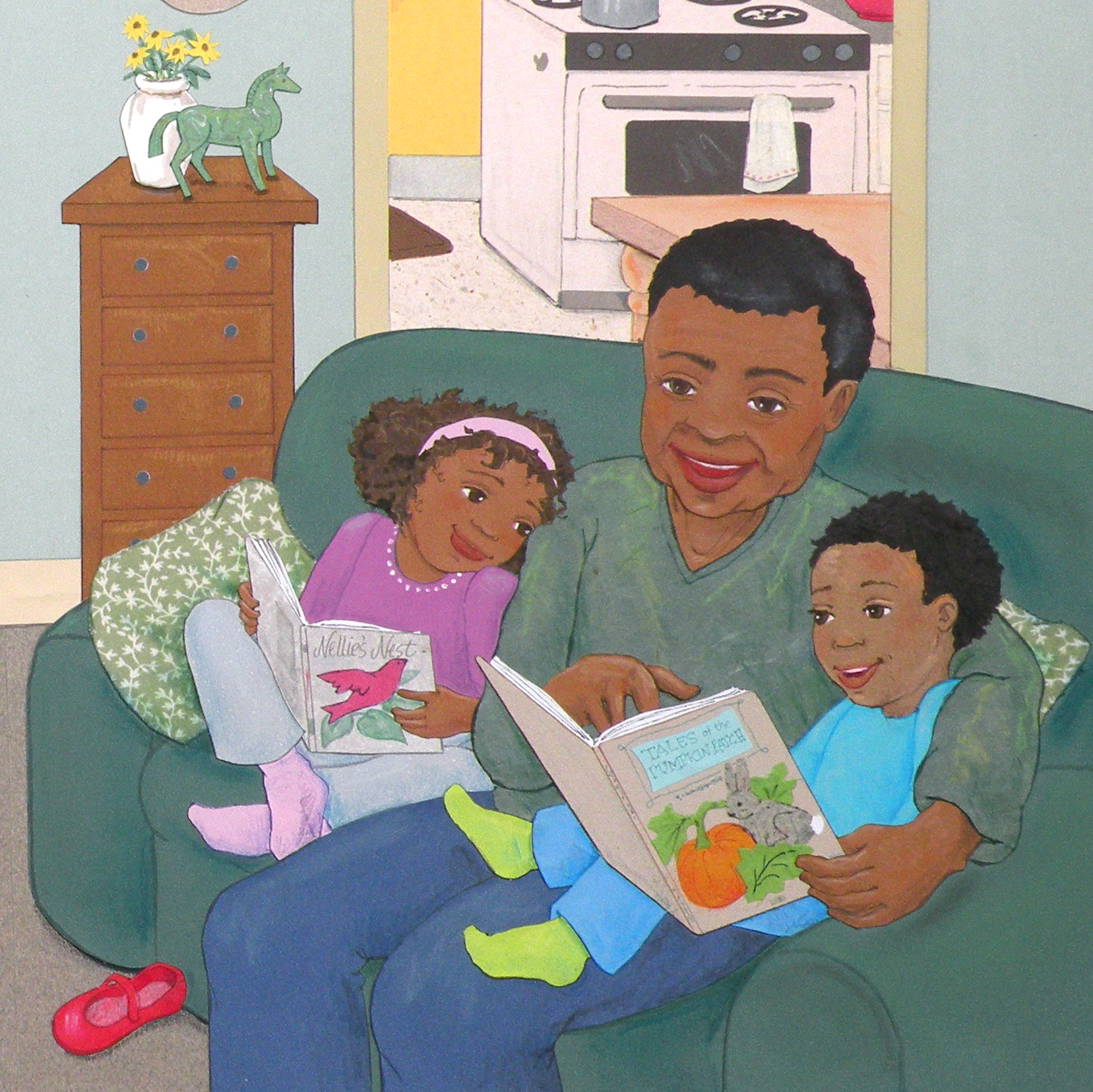 celebrate-picture-books-picture-book-review-rainbow-stew-interior-reading-together