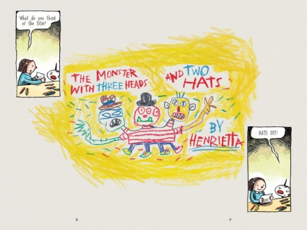 celebrate-picture-books-picture-book-review-written-and-drawn-by-henrietta-three-headed-monster