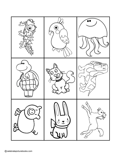 CPB - Animal Matching Cards