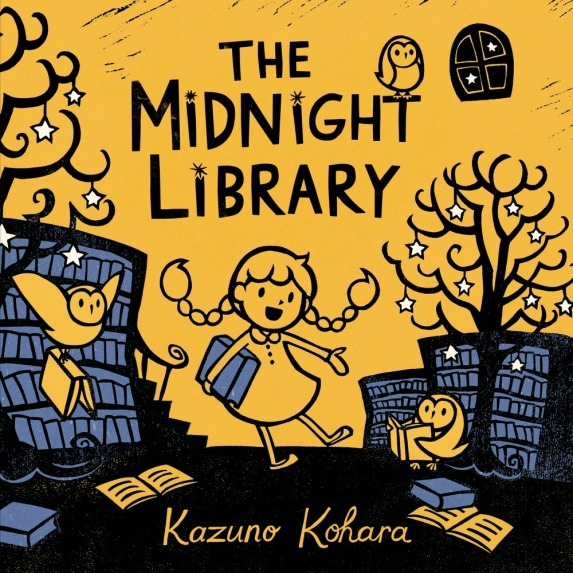 The Midnight Library by Kazuno Kohara Picture Book Review