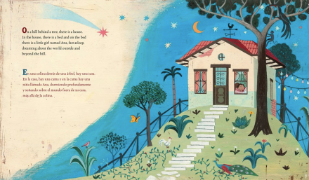celebrate-picture-books-picture-book-review-waiting-for-the-biblioburro-bilingual-edition-nighttime
