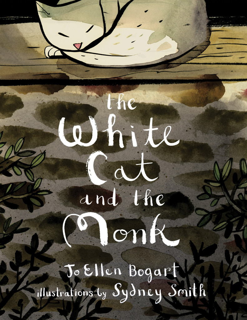 celebrate-picture-books-picture-book-review-the-white-cat-and-the-monk