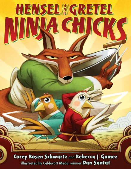 celebrate-picture-books-picture-book-review-hensel-and-gretel-ninja-chicks-cover
