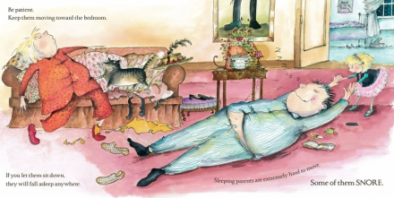 celebrate-picture-books-picture-book-review-how-to-put-your-parents-to-bed-interior-art-sleeping