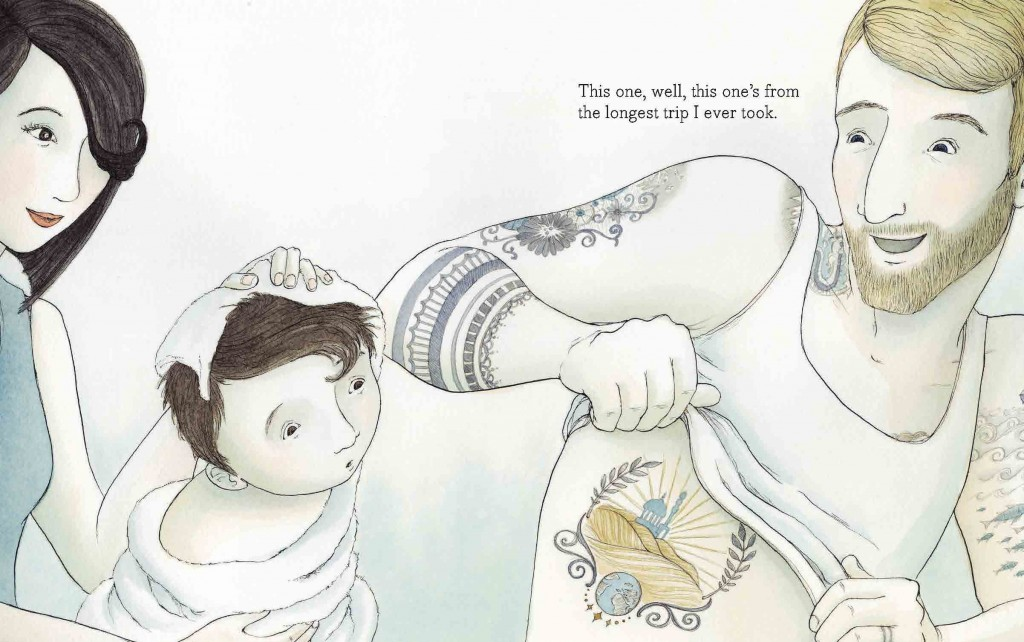 celebrate-picture-books-picture-book-review-tell-me-a-tattoo-story-interior-art-longest-trip