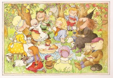 celebrate-picture-books-picture-book-review-each-peach-pear-plum-interior-art-picnic