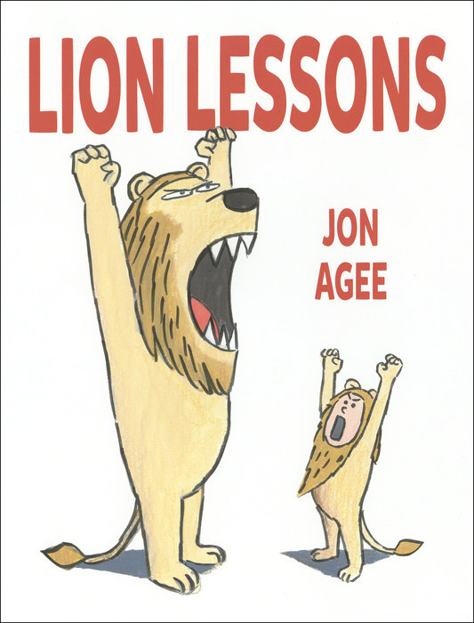 celebrate-picture-books-picture-book-review-lion-lessons-jon-agee
