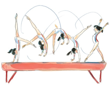 celebrate-picture-books-picture-book-review-nadia-the-girl-who-couldn't-sit-still-balance-beam