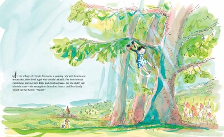celebrate-picture-books-picture-book-review-nadia-the-girl-who-couldn't-sit-still-swinging-in-trees