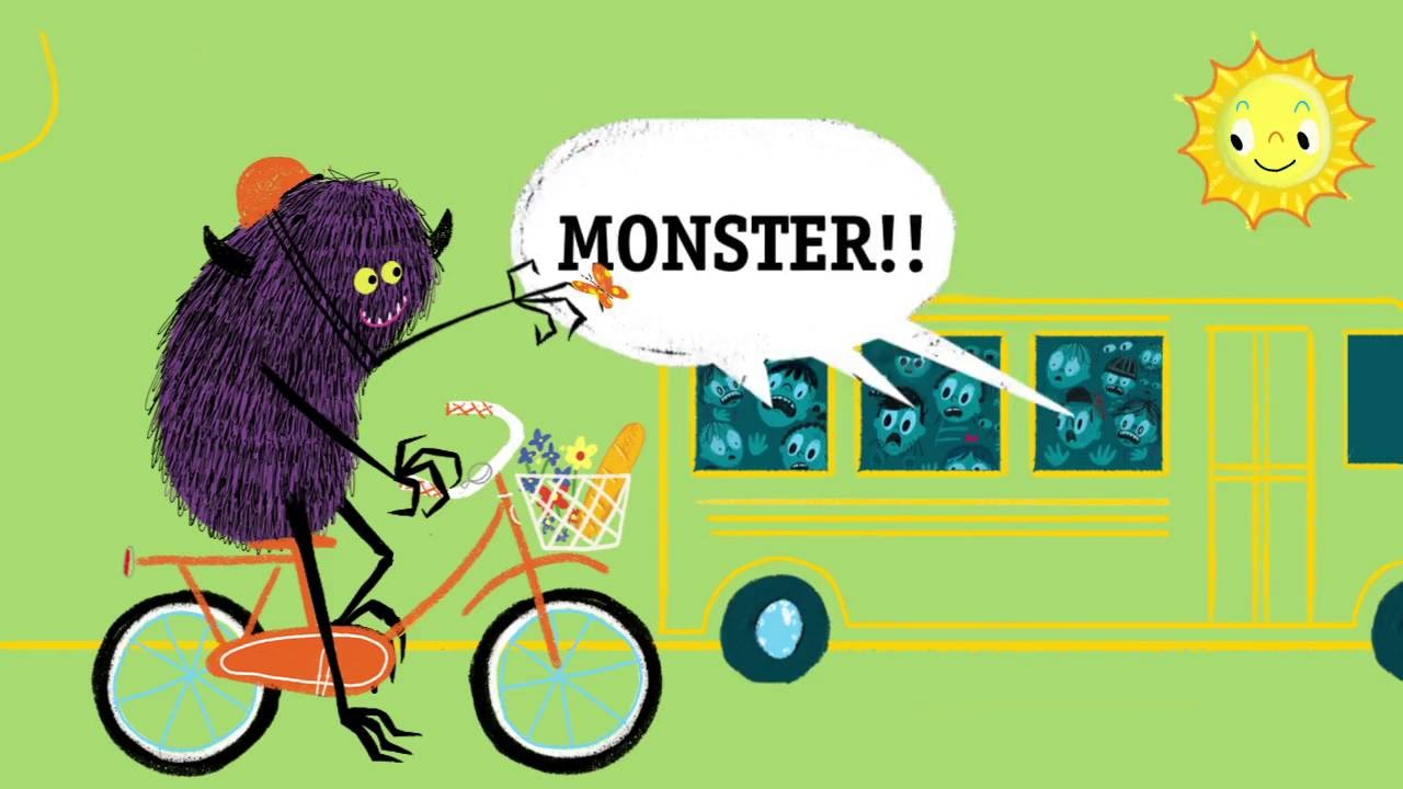celebrate-picture-books-picture-book-review-quit-calling-me-a-monster-interior-art-bus