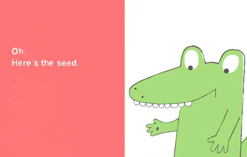 celebrate-picture-books-picture-book-review-the-watermelon-seed-dislodged seed