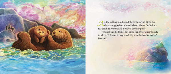 celebrate-picture-books-picture-book-review-good-night-little-sea-otter-mama-fluffing-pup's-fur