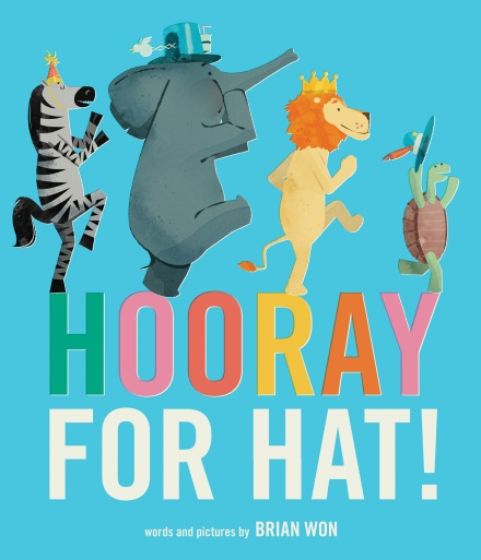 celebrate-picture-books-picture-book-review-hooray-for-hat!-cover