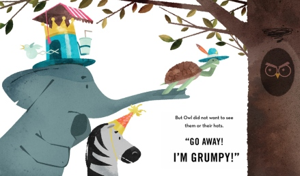 celebrate-picture-books-picture-book-review-hooray-for-hat!-hat-for-owl