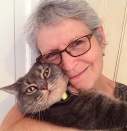 celebrate-picture-books-picture-book-review-interview-with-Ellen-Mayer-hugging-cat