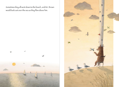celebrate-picture-books-picture-book-review-mr-brown's-fantastic-hat-looking-out-to-sea