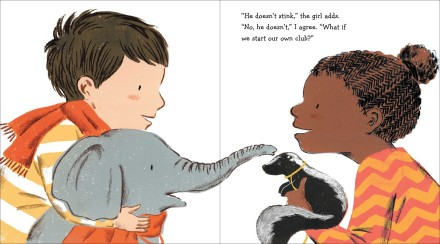 celebrate-picture-books-picture-book-review-strictly-no-elephants-girl-with-skunk
