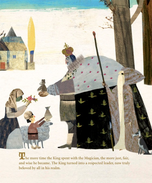 celebrate-picture-books-picture-book-review-the-king-and-the-magician-changed-king