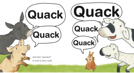 celebrate-picture-books-picture-book-review-the-little-rabbit-who-liked-to-say-moo-quack