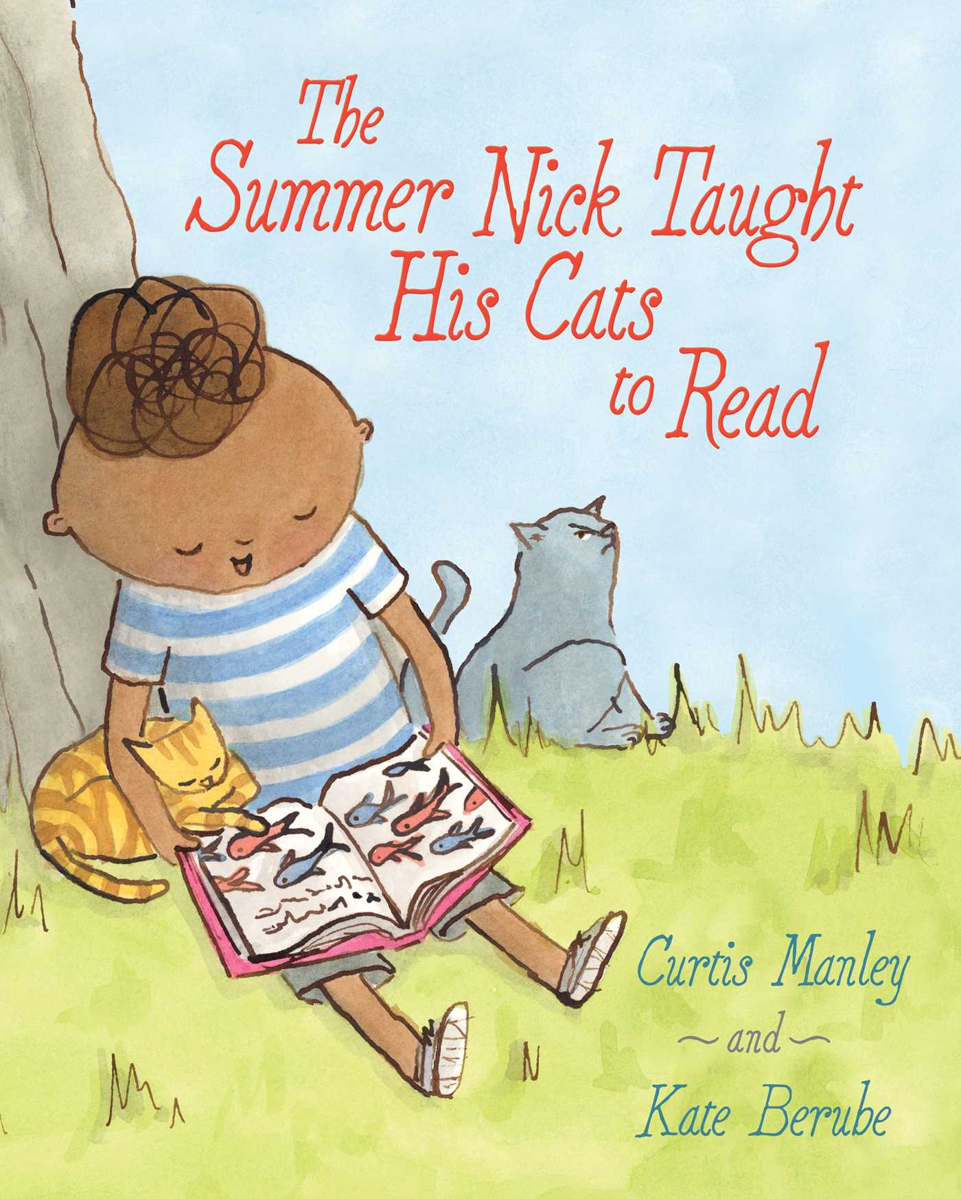 celebrate-picture-books-picture-book-review-the-summer-nick-taught-his-cats-to-read-cover