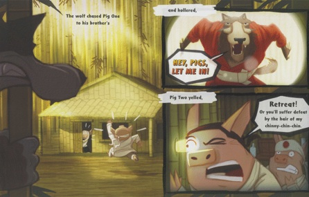celebrate-picture-books-picture-book-review-three-ninja-pigs-retreat