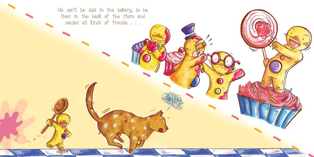 celebrate-picture-books-picture-book-review-tough-cookie-gingerbread-man-causes mischief