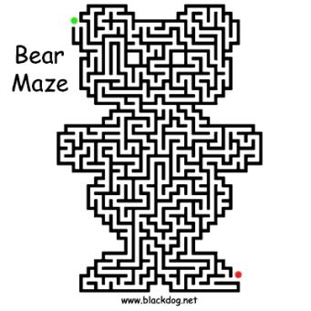bear-maze