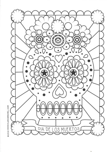 celebrate-picture-books-picture-book-review-day-of-dead-coloring-page