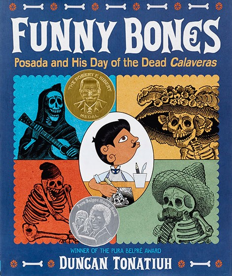 celebrate-picture-books-picture-book-review-funny-bones-posada-and-his-day-of-the-dead-calaveras-cover