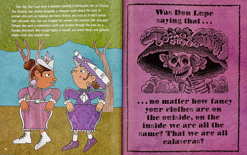 celebrate-picture-books-picture-book-review-funny-bones-posada-and-his-day-of-the-dead-calaveras-fancy-hat