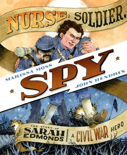celebrate-picture-books-picture-book-review-nurse-soldier-spy-the-story-of-sarah-edmonds-cover