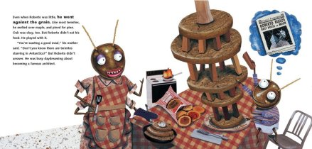 celebrate-picture-books-picture-book-review-roberto-the-insect-architect-roberto-plays-with-his-food