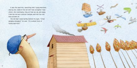 celebrate-picture-books-picture-book-review-those-darn-squirrels-fly-south-squirrels-fly-south