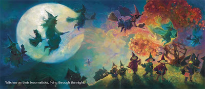 celebrate-picture-books-picture-book-review-witches-cheryl-christian-flying-at-night