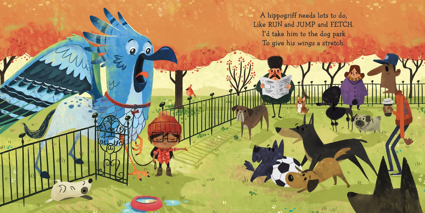celebrate-picture-books-picture-book-review-if-I-had-a-gryphon-hippogriff