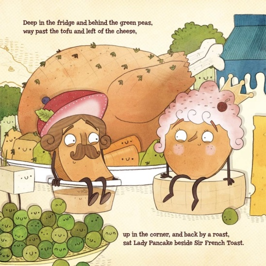 celebrate-picture-books-picture-book-review-lady-pancake-&-sir-french-toast-in-the-corner