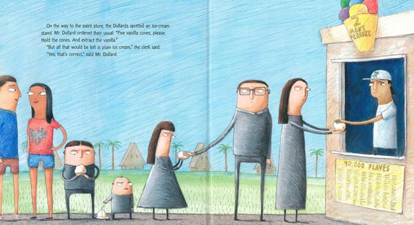 celebrate-picture-books-picture-book-review-meet-the-dullards-getting-ice-cream